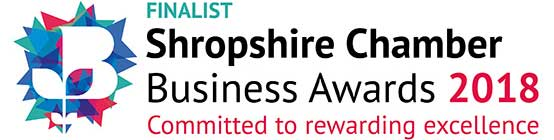 Shropshire Chamber of Commerce Business Awards Finalist